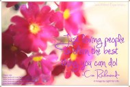 Just Loving....