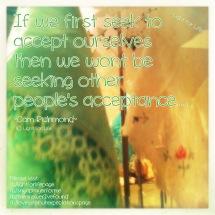 LFL - accept self first