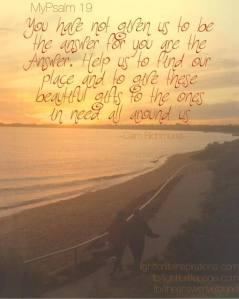 MyPsalm 19