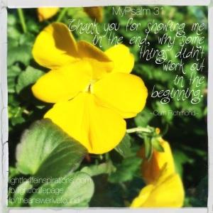 MyPsalm 31